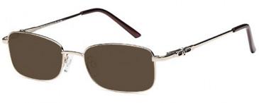 SFE-9617 sunglasses in Gold