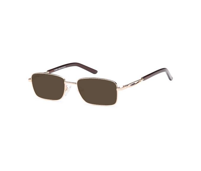 SFE-9664 sunglasses in Light Gold