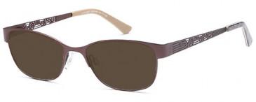 SFE-9517 sunglasses in Matt Brown