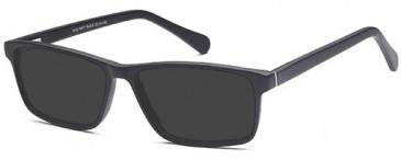 SFE-9520 sunglasses in Matt Black
