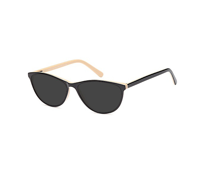 SFE-9544 sunglasses in Black/Horn