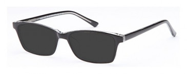SFE-9607 sunglasses in Black/Crystal