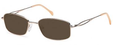SFE-9652 sunglasses in Gold