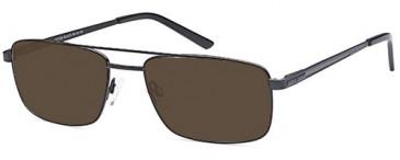 SFE-9657 sunglasses in Black
