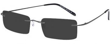 SFE-9572 sunglasses in Gun Metal