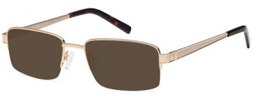 SFE-9640 sunglasses in Gold