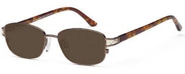 SFE-9642 sunglasses in Bronze/Gold