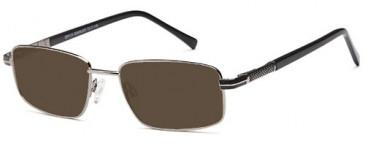 SFE-9643 sunglasses in Gun/Black