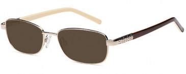 SFE-9647 sunglasses in Gold
