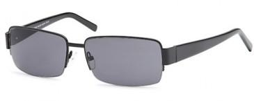 SFE-9678 Sunglasses in Black