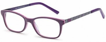 Barbie BB401 kids glasses in Plum