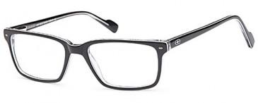 No Fear NOF8012 kids glasses in Black