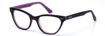 Bench Prescription Plastic Glasses in Lilac