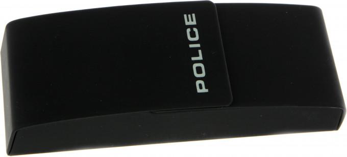 Police glasses case in black
