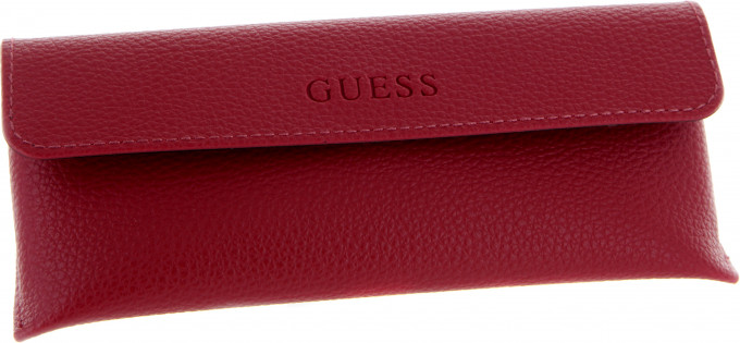 Guess glasses case in Red
