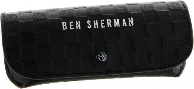Ben Sherman glasses case in black