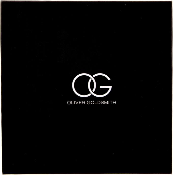 Oliver Goldsmith cloth in Black/White
