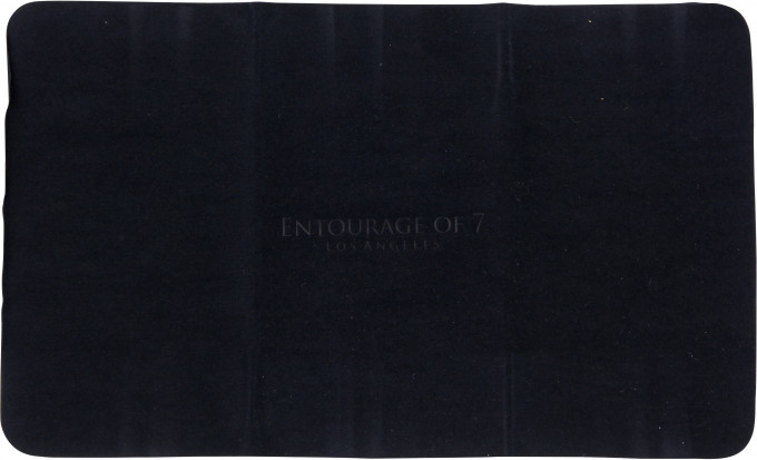 Entourage of 7 cloth in Black