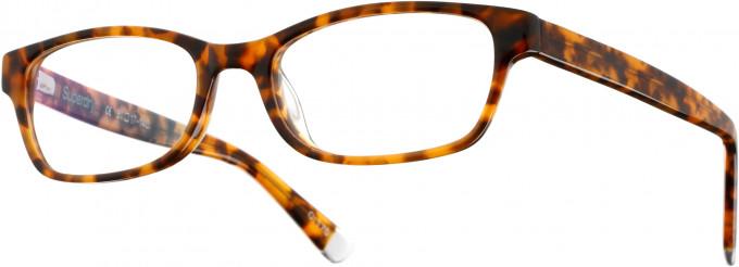 Superdry SDO-EVA Glasses in Gloss Amber Camo/Grey Crystal