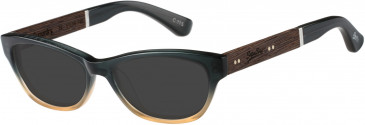 Superdry SDO-HANA Sunglasses in Green/Amber