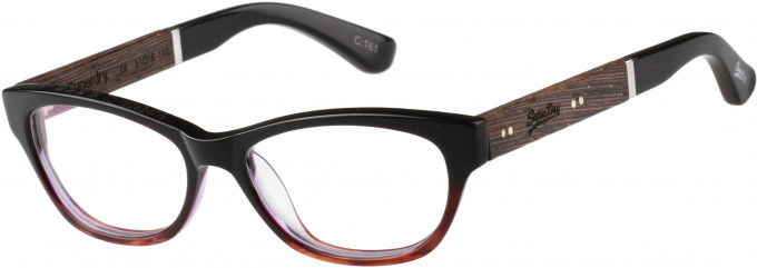 Superdry SDO-HANA Glasses in Tortoiseshell/Purple
