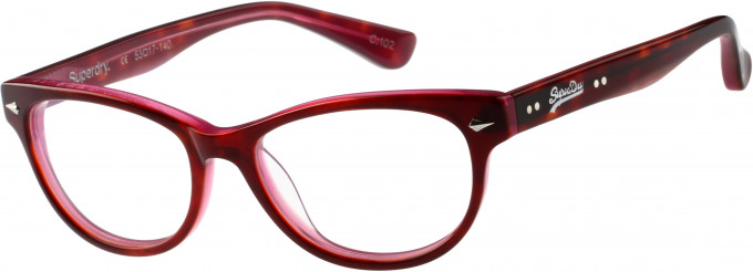 Superdry SDO-ICARUS Glasses in Gloss Tortoiseshell/Pink
