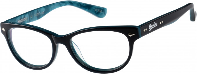 Superdry SDO-ICARUS Glasses in Gloss Blue/Aqua Marble