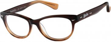 Superdry SDO-ICARUS Glasses in Gloss Tobacco Fade
