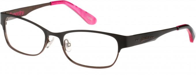 Superdry SDO-ONWA Glasses in Matte Black/Pink Marble