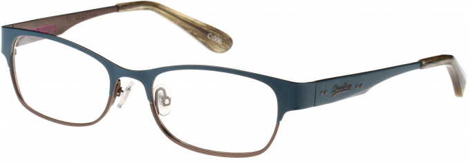 Superdry SDO-ONWA Glasses in Painted Midnight Blue/Horn
