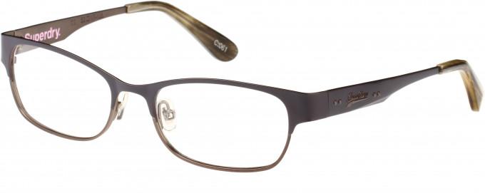 Superdry SDO-ONWA Glasses in Matte Purple/Horn
