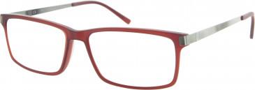 Fila VF9088 glasses in Red