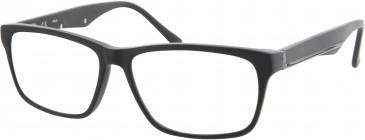 Fila VF9016 glasses in Matt Black