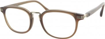 Dunhill London VDH034 glasses in Matt Brown