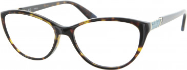 Furla VU4941 glasses in Tortoiseshell