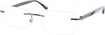 Dunhill London VDH027 glasses in Gunmetal