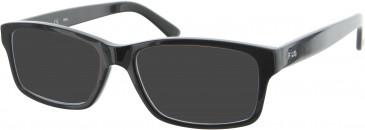 Fila VF8988 sunglasses in Black