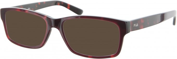 Fila VF8988 sunglasses in Red