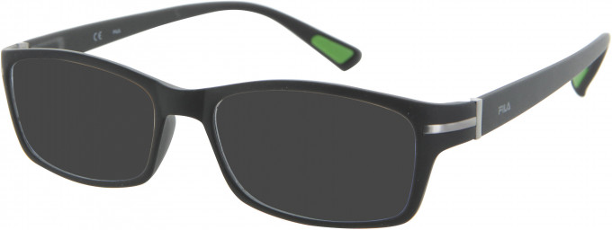 Fila VF8902 sunglasses in Matt Black