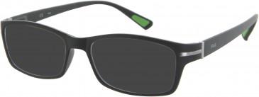 Fila VF8902 sunglasses in Matt Black
