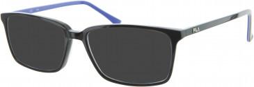 Fila VF9041 sunglasses in Black