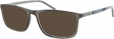 Fila VF9101 sunglasses in Smoke