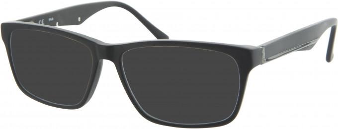 Fila VF9016 sunglasses in Matt Black