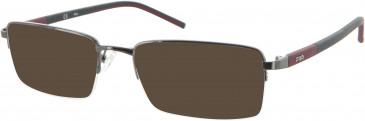 Fila VF9580 sunglasses in Gunmetal