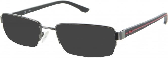 Fila VF9686 sunglasses in Gunmetal