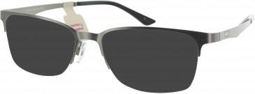 Levi's LS104 sunglasses in Gunmetal