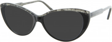 Oliver Goldsmith OLI009 sunglasses in Black Sparkle