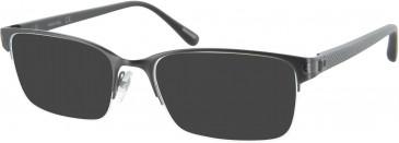 Dunhill London VDH021V sunglasses in Gunmetal