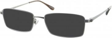Dunhill London VDH037 sunglasses in Gunmetal