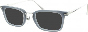 Dunhill London VDH039 sunglasses in Grey